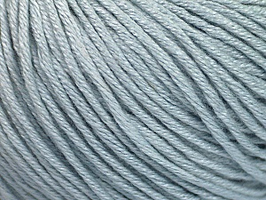 Fiber Content 60% Bamboo, 40% Cotton, Light Blue, Brand ICE, Yarn Thickness 3 Light  DK, Light, Worsted, fnt2-50552