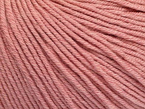 Fiber Content 60% Cotton, 40% Acrylic, Rose Pink, Brand ICE, Yarn Thickness 2 Fine  Sport, Baby, fnt2-51213