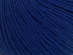 Fiber Content 60% Cotton, 40% Acrylic, Navy, Brand ICE, Yarn Thickness 2 Fine  Sport, Baby, fnt2-51233