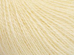 Fiber Content 65% Merino Wool, 35% Silk, Brand ICE, Cream, Yarn Thickness 1 SuperFine  Sock, Fingering, Baby, fnt2-51453