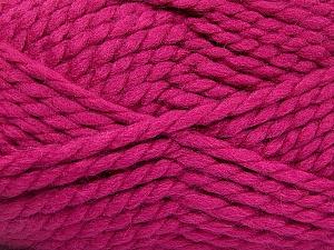 SuperBulky  Fiber Content 55% Acrylic, 45% Wool, Brand ICE, Fuchsia, Yarn Thickness 6 SuperBulky  Bulky, Roving, fnt2-51489