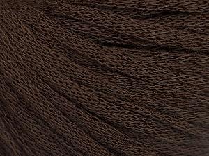 Fiber Content 50% Wool, 50% Acrylic, Brand ICE, Dark Brown, Yarn Thickness 4 Medium  Worsted, Afghan, Aran, fnt2-51494
