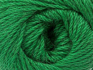 Fiber Content 45% Alpaca, 30% Polyamide, 25% Wool, Brand ICE, Green, Yarn Thickness 3 Light  DK, Light, Worsted, fnt2-51530
