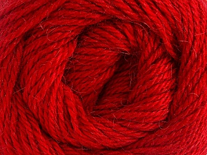 Fiber Content 45% Alpaca, 30% Polyamide, 25% Wool, Brand ICE, Dark Red, Yarn Thickness 3 Light  DK, Light, Worsted, fnt2-51534