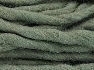 Fiber Content 100% Superwash Wool, Light Khaki, Brand ICE, Yarn Thickness 6 SuperBulky  Bulky, Roving, fnt2-51677