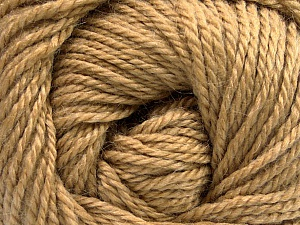 Fiber Content 45% Alpaca, 30% Polyamide, 25% Wool, Light Brown, Brand ICE, Yarn Thickness 3 Light  DK, Light, Worsted, fnt2-51732