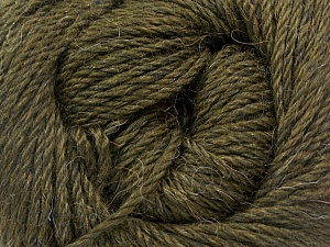 Fiber Content 45% Alpaca, 30% Polyamide, 25% Wool, Brand ICE, Dark Khaki, Yarn Thickness 3 Light  DK, Light, Worsted, fnt2-51733