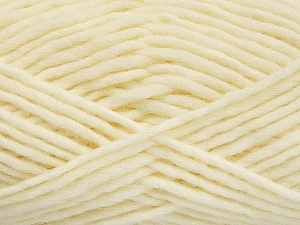Fiber Content 100% Wool, Brand ICE, Cream, Yarn Thickness 5 Bulky  Chunky, Craft, Rug, fnt2-51912