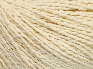 Fiber Content 68% Cotton, 32% Silk, Brand Ice Yarns, Cream, Yarn Thickness 2 Fine  Sport, Baby, fnt2-51929