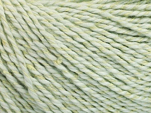 Fiber Content 68% Cotton, 32% Silk, Light Mint Green, Brand Ice Yarns, Yarn Thickness 2 Fine  Sport, Baby, fnt2-51931