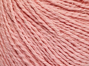 Fiber Content 68% Cotton, 32% Silk, Light Pink, Brand Ice Yarns, Yarn Thickness 2 Fine  Sport, Baby, fnt2-51936