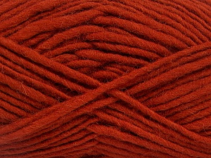 Fiber Content 100% Wool, Brand ICE, Copper, Yarn Thickness 5 Bulky  Chunky, Craft, Rug, fnt2-52571