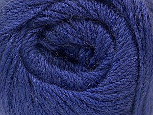 Fiber Content 45% Alpaca, 30% Polyamide, 25% Wool, Purple, Brand ICE, Yarn Thickness 3 Light  DK, Light, Worsted, fnt2-52626