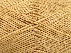 Fiber Content 100% Acrylic, Brand ICE, Cafe Latte, Yarn Thickness 2 Fine  Sport, Baby, fnt2-52627