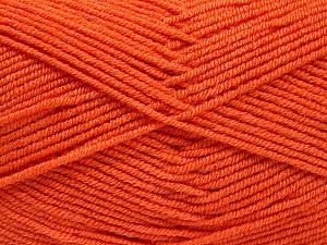 Fiber Content 50% Bamboo, 50% Acrylic, Brand ICE, Dark Orange, Yarn Thickness 2 Fine  Sport, Baby, fnt2-53094