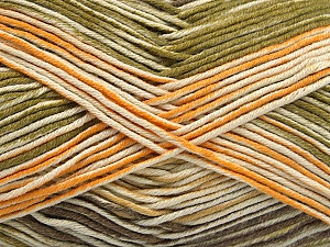 Fiber Content 50% Cotton, 50% Acrylic, Yellow, Brand ICE, Green, Cream, Camel, Yarn Thickness 2 Fine  Sport, Baby, fnt2-53759