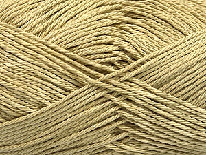 Fiber Content 100% Mercerised Cotton, Light Khaki, Brand ICE, Yarn Thickness 2 Fine  Sport, Baby, fnt2-53791