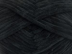 Fiber Content 100% Micro Fiber, Brand ICE, Black, Yarn Thickness 4 Medium  Worsted, Afghan, Aran, fnt2-54137