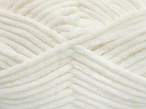 Fiber Content 100% Micro Fiber, White, Brand ICE, Yarn Thickness 4 Medium  Worsted, Afghan, Aran, fnt2-54138