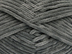 Fiber Content 100% Micro Fiber, Brand ICE, Grey, Yarn Thickness 4 Medium  Worsted, Afghan, Aran, fnt2-54140