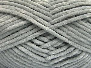 Fiber Content 100% Micro Fiber, Light Grey, Brand ICE, Yarn Thickness 4 Medium  Worsted, Afghan, Aran, fnt2-54141