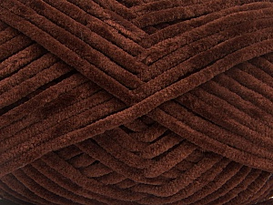 Fiber Content 100% Micro Fiber, Brand ICE, Dark Brown, Yarn Thickness 4 Medium  Worsted, Afghan, Aran, fnt2-54143