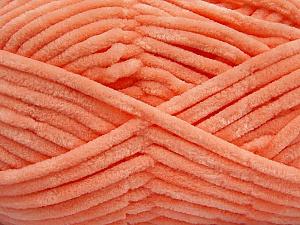 Fiber Content 100% Micro Fiber, Salmon, Brand ICE, Yarn Thickness 4 Medium  Worsted, Afghan, Aran, fnt2-54147