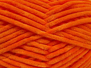 Fiber Content 100% Micro Fiber, Orange, Brand ICE, Yarn Thickness 4 Medium  Worsted, Afghan, Aran, fnt2-54148
