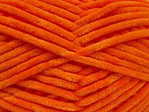 Fiber Content 100% Micro Fiber, Orange, Brand ICE, Yarn Thickness 4 Medium  Worsted, Afghan, Aran, fnt2-54148