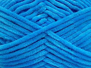 Fiber Content 100% Micro Fiber, Brand ICE, Blue, Yarn Thickness 4 Medium  Worsted, Afghan, Aran, fnt2-54154