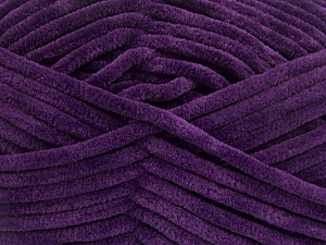 Fiber Content 100% Micro Fiber, Purple, Brand ICE, Yarn Thickness 4 Medium  Worsted, Afghan, Aran, fnt2-54157