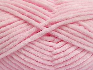 Fiber Content 100% Micro Fiber, Brand ICE, Baby Pink, Yarn Thickness 4 Medium  Worsted, Afghan, Aran, fnt2-54162