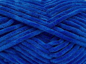Fiber Content 100% Micro Fiber, Royal Blue, Brand ICE, Yarn Thickness 4 Medium  Worsted, Afghan, Aran, fnt2-54258