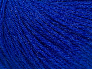 Fiber Content 55% Baby Alpaca, 45% Superwash Extrafine Merino Wool, Brand ICE, Blue, Yarn Thickness 3 Light  DK, Light, Worsted, fnt2-54361