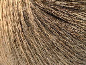 Fiber Content 55% Acrylic, 30% Wool, 15% Polyamide, Brand ICE, Cream, Camel, Brown, Yarn Thickness 3 Light  DK, Light, Worsted, fnt2-54390