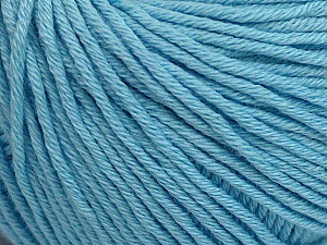 Global Organic Textile Standard (GOTS) Certified Product. CUC-TR-017 PRJ 805332/918191 Fiber Content 100% Organic Cotton, Brand ICE, Baby Blue, Yarn Thickness 3 Light  DK, Light, Worsted, fnt2-54946