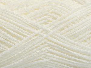 Fiber Content 100% Acrylic, White, Brand ICE, Yarn Thickness 2 Fine  Sport, Baby, fnt2-55123