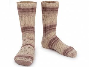 Fiber Content 75% Superwash Wool, 25% Polyamide, Brand ICE, Cream, Brown, Yarn Thickness 1 SuperFine  Sock, Fingering, Baby, fnt2-55538