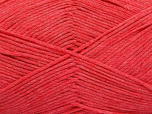 Fiber Content 100% Cotton, Salmon, Brand ICE, Yarn Thickness 2 Fine  Sport, Baby, fnt2-55651