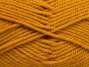 Bulky  Fiber Content 100% Acrylic, Brand ICE, Gold, Yarn Thickness 5 Bulky  Chunky, Craft, Rug, fnt2-55653