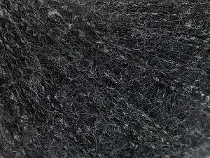 Fiber Content 43% Polyamide, 26% Alpaca Superfine, 19% Acrylic, 12% Wool, Brand ICE, Anthracite Black, fnt2-55798