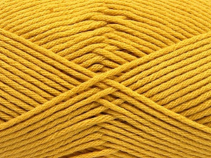Fiber Content 50% SuperFine Acrylic, 50% SuperFine Nylon, Brand ICE, Gold, Yarn Thickness 4 Medium  Worsted, Afghan, Aran, fnt2-56285
