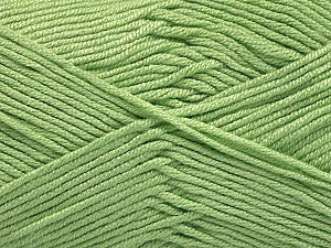 Fiber Content 50% Acrylic, 50% Bamboo, Mint Green, Brand ICE, Yarn Thickness 2 Fine  Sport, Baby, fnt2-56575
