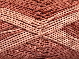 Fiber Content 100% Mercerised Cotton, Brand ICE, Copper, Yarn Thickness 2 Fine  Sport, Baby, fnt2-56594