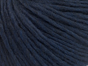 Fiber Content 50% Acrylic, 50% Wool, Navy, Brand ICE, Yarn Thickness 4 Medium  Worsted, Afghan, Aran, fnt2-57009
