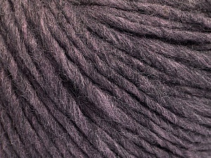 Fiber Content 50% Acrylic, 50% Wool, Maroon Melange, Brand ICE, Yarn Thickness 4 Medium  Worsted, Afghan, Aran, fnt2-57012