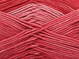 Fiber Content 100% Mercerised Cotton, Salmon, Brand ICE, Yarn Thickness 2 Fine  Sport, Baby, fnt2-57610