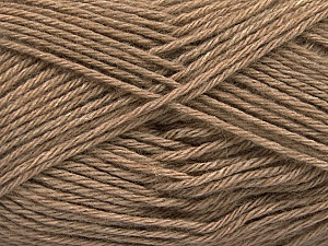 Fiber Content 65% Merino Wool, 35% Silk, Brand ICE, Camel, Yarn Thickness 3 Light  DK, Light, Worsted, fnt2-57667