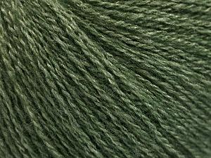 Fiber Content 65% Merino Wool, 35% Silk, Jungle Green, Brand ICE, Yarn Thickness 1 SuperFine  Sock, Fingering, Baby, fnt2-57858
