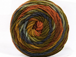 Fiber Content 100% Acrylic, Purple, Brand ICE, Green Shades, Brown Shades, Yarn Thickness 4 Medium  Worsted, Afghan, Aran, fnt2-58026